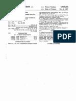 Us Patent 4704260