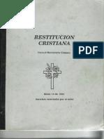 restitucionmonoteismo