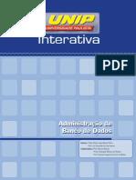 Administração de Banco de Dados Unidade I