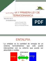 Entalpia y Primera Ley de Termodinamica