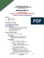 Edificacion III - Trabajos Practicos