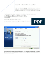 Integración de Drivers SATA Con NLite a Instalacion de XP