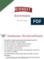 Smirnoff Vodka Brand Analysis