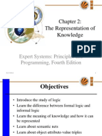representation of knowledge in expert systems