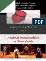 Literatura Comparada - Monte Castelo