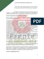 Protocolo Primarias Del 8 de Junio 2014
