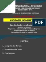 Semana 10 Auditoría Informática