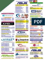 Pricelist 2014