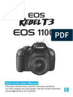 Canon Eos 1100d Manual
