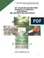 Productos y Plan de Acción Turística Huayopata. TIM