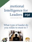 EI for Good Leaders