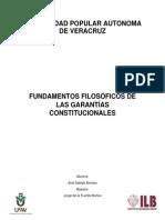 Fundamentos Filosoficos de Las Garantías Constitucionales