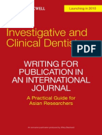 Writing for Publication in an International Journal