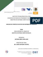 Análisis de Tráfico de Datos en Sistemas Distribuidos