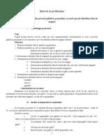 Cercetare Calitativa - Interviul in Profunzime