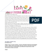 Mother's Day Intro