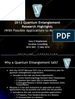 2014 ISDC Mars Quantum Engtanglement Applications 2014-05-17