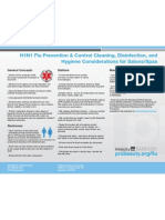 H1N1 Prevention Control