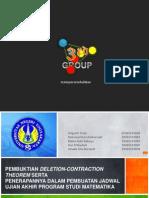 Pembuktian Deletion-contraction Theorem