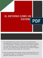 El Entorno Como Sistema