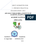 Project Logic Gate
