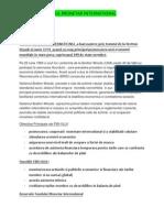 PROIECT Fondul Monetar International