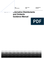EPA Alternative Disinfectants Guidance