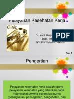 K3-Pelayanan Kesehatan Kerja