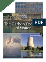 Carbon Footprint of Water