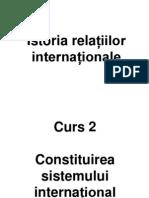 Istoria Relatiilor Internationale Curs
