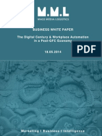 The Digital Century & Workplace Automation in a Post GFC Economy