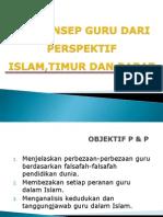 Konsep Guru -Islam, Timur Dan Barat