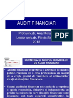 Audit Financiar CURS I