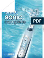Sonic Complete Toothbrush
