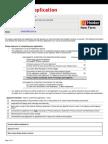 Tenancy Application 2014