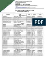 02.Susunan Kepengurusan Bem Ft 2014 Update