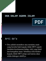 Doa Dalam Agama Islam