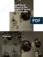 Geometrical approach to speed and acceleration