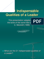 Leadership 21 Traits