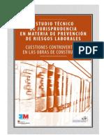 Estudio Técnico Judisprudencia Prevención Seguridad Cuestiones Controvertidas Edificación