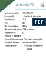 Características de Herramienta PNN