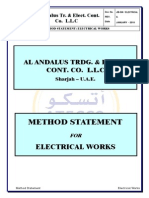 4. MS for Electrical Installation