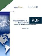 Erp Mid Market Benchmark 2007