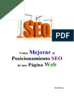 Como Mejorar El Posicionamiento SEO de Una Pagina Web