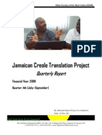 July to September 2009 Report
