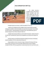 Invitasi Softball Putri UNY Cup