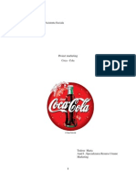 Proiect Marketing Coca Cola