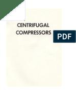 Centifugal Compressors Part 1