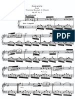 Alkan Barcarolle Op. 65 (From Trente Chants Vol. 3)