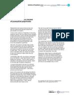 Puerperal Psychosis Causes April 2012